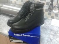 *Brand new*Rugged terrain safety boots