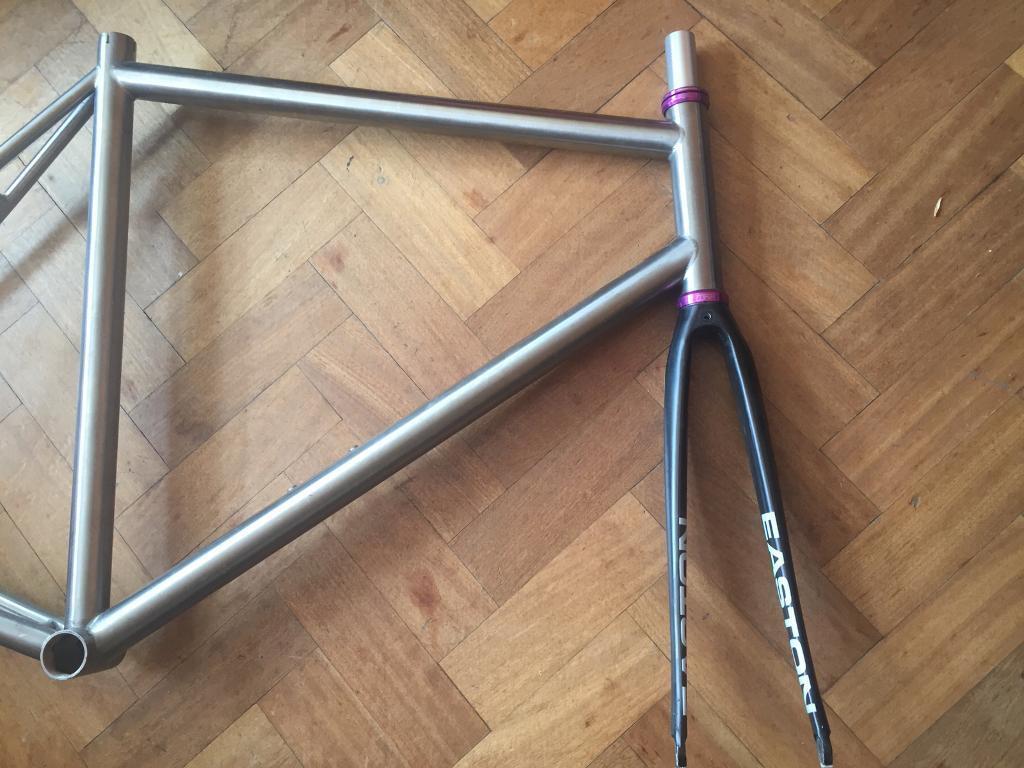 Pretorius long Tom titanium track frame | in Lambeth, London | Gumtree