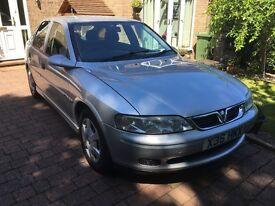 Vauxhall Vectra 1.8 petrol. 12 months MOT