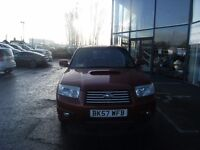2007 57 SUBARU FORESTER 2.5 XTEN 5D AUTO 230 BHP **** GUARANTEED FINANCE **** PART EX WELCOME ****