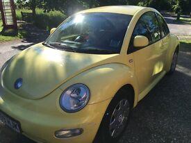 QUICK SALE URGENT - VW Beetle 2001, 1.6, 3dr
