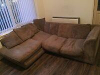 Corner sofa plus 3 seater