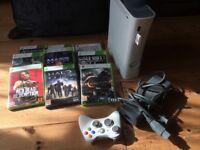 Microsoft Xbox 360 Pro 20GB Matte White Console (PAL) + Bundled Games