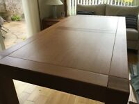 Solid oak John Lewis dining table Immaculate condition.