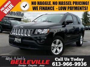 2016 Jeep Compass North-4x4-Bluetooth Only $71 Weekly!