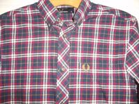 Fred Perry X Small Tartan Shirt