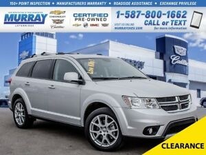 2014 Dodge Journey **Low kms!  Well Maintained!**