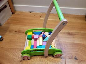 Hape Wooden Baby Walker/ Tippitoes Door Bouncer