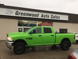 2017 RAM 3500 ST WOW 6SPD MANUAL! DIESEL, ORIGINAL PAINT!4X4!