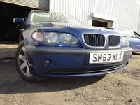 53 BMW 3 SERIES 1.8 MANUAL,MOT MARCH 017,2 OWNERS FROM NEW,FULL SERVICE HISTORY,VERY RELIABLE CAR