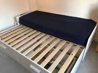 Ikea expanding bed with drawers RRP 160