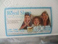 Royal Sleep double mattress 4'6'' ( 1.37m) like new