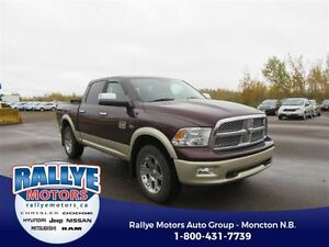 2012 Ram 1500 Laramie Longhorn! 4x4! Leather! Back-Up!