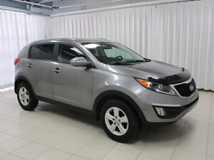 2014 Kia Sportage SUV. MANUAL TRANSMISSION w/ HEATED SEATS, AC,