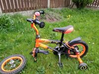 12 Inch Strike II Kids Bike
