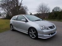 2005 55 HONDA CIVIC 1.6 I-VTEC SPORT 3 DOOR