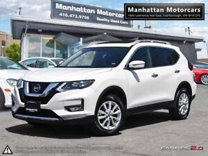 2017 NISSAN ROGUE 2.5 SV AWD |CAMERA|WARRANTY|PHONE|ALLOY|ROOF