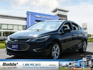 2017 Chevrolet Cruze Premier Auto 0% for up to 24 Months OAC !