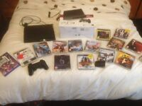 PS 3 160 GB, console and games, Light use mature gamer