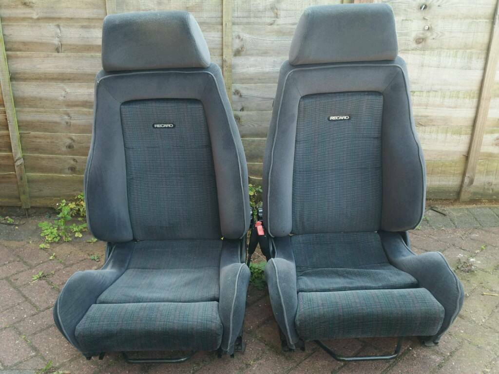 Ford Fiesta Rs Turbo Mk3 Recaro Seats Will Fit Bmw E30 In Good Condition In Hall Green West