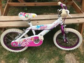 "Girls 12"" wheel bike"