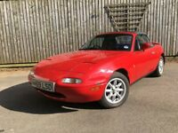 Mazda MX5 1990 UK car, been garaged since 2007