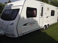 Twin Axle Lunar Delta Rs 4 Berth Fixed Bed Caravan
