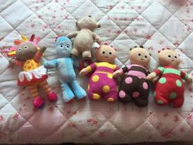 In the night garden soft toy characters