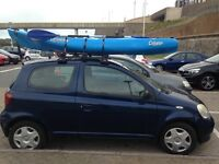 Calypso Islander Sit on top Sea Kayak with paddle, life jacket and kayak trolley