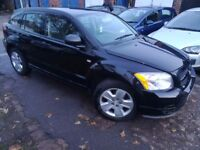 DODGE CALIBER SE, 2006, BLACK, MOTED, DRIVES GREAT, EW, AIR CON, CD, EM, VERY CLEAN SMOOTH CROSSOVER