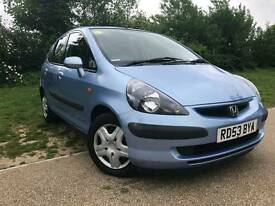 Honda JAZZ Petrol Engine size 1.4 Mileage 50000 Year o2004 Colour Blue Gearbox-Auto
