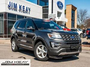 2016 Ford Explorer XLT 4WD*DUAL PANEL MOONROOF*LEATHER*DUAL ZONE