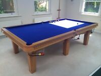 """Snooker Table 9' x 4'6"""""""