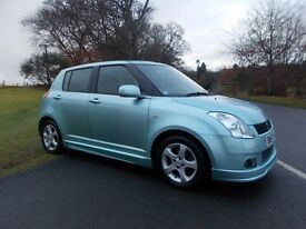 2007 57 SUZUKI SWIFT 1.5 VVTS GLX 5 DOOR MANUAL