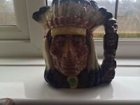 Rohl dolton large indian head toby jug