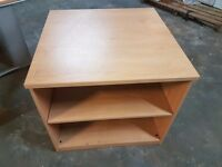 Office Desk High 2 Shelf Bookcase/Files Good Condition!!