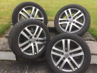 """VW Wheels 16"""" fitted with legal tires ... NO KERBING!"""
