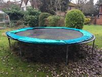 Trampoline (14 ft Dia) Free to a good home!
