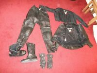 Frank Thomas Ladies motorcycle leathers
