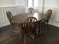 Old Charm Dining Table and Chairs