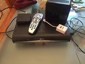 Sky+ HD box & Broadband Hub
