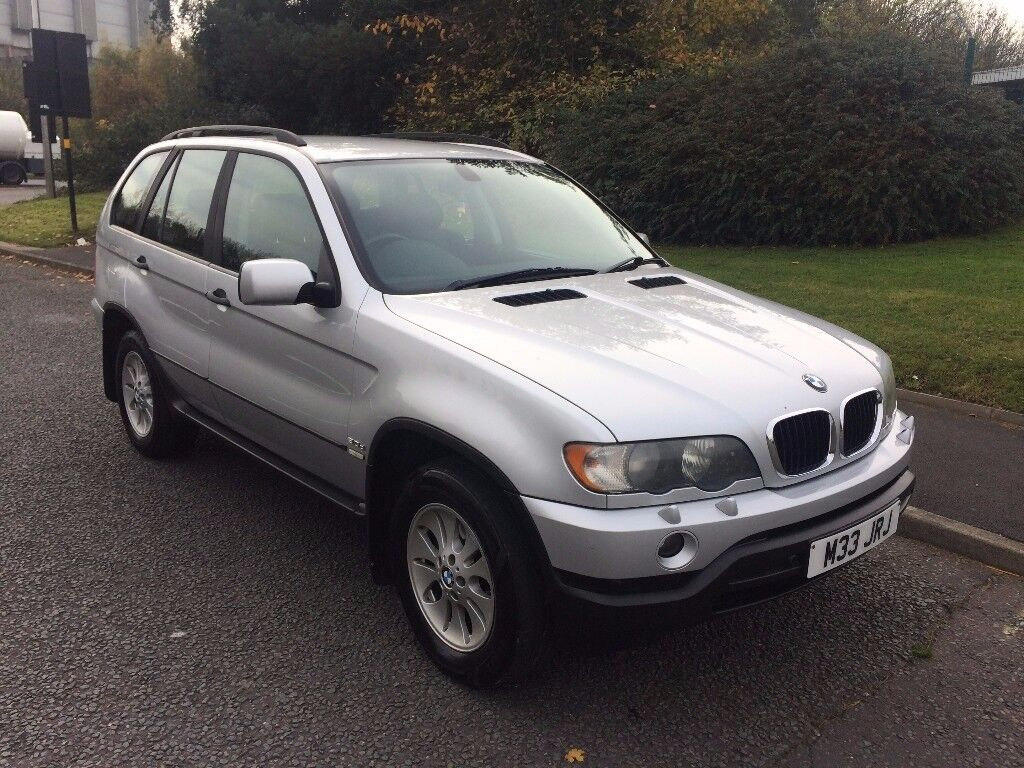 2003 bmw x5 3 0d diesel sport full black leather low. Black Bedroom Furniture Sets. Home Design Ideas