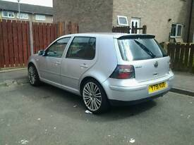 2001 vw golf 2.3 v5 130k 5month mot
