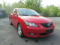 2006 Mazda MAZDA3 GT** ACCIDENT FREE* 3 YEARS WARRANTY**