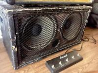 **REDUCED** Marshall Guitar Stack Amp, Cab & Foot Switch