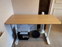 Adjustable desk (IKEA)