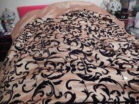Large Double Bed cover