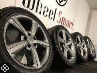 "20"" AUDI ALLOY WHEELS & TYRES- 5 X 112 -275 45 20 - GLOSS GRAPHITE - AUDI,VW,SEAT & MORE Wheel Smart"