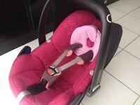 Maxi Cosi Pebble Car seat, Cerise Pink