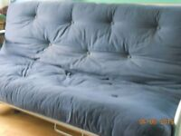 METAL SPRUNG ACTION DOUBLE SOFA BED